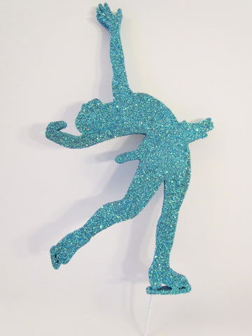 Figure skater cutout - Designs by Ginny