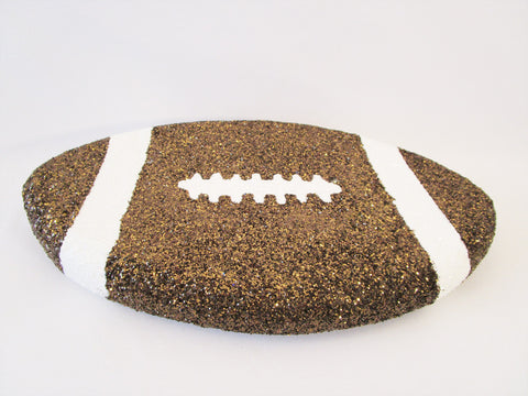 Faux football cutout - Designs by Ginny