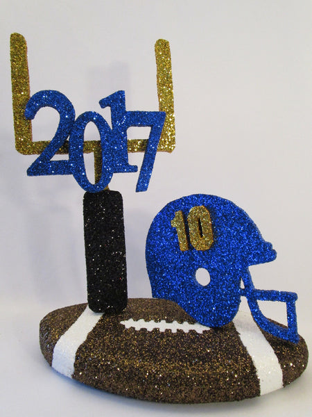 Football themed centerpiece - Designs by Ginny