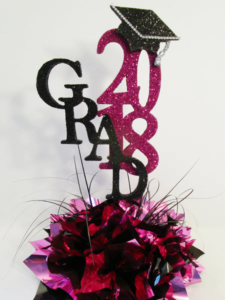 Graduation Centerpiece - Designs by Ginny