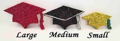 Styrofoam grad caps - Designs by Ginny