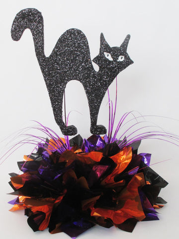 Halloween Cat Centerpiece