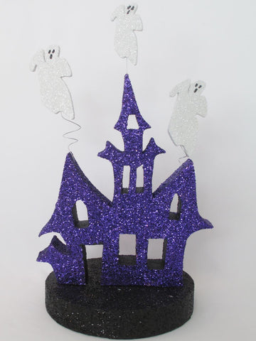 Haunted House & Ghosts Halloween centerpiece - Designs by Ginny