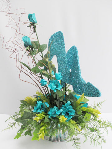 High Heel Pair of Shoes Centerpiece