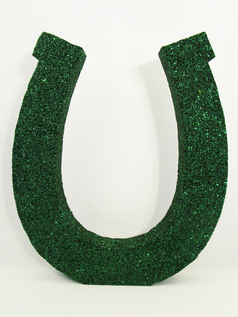 super large styrofoam horse shoe - Designs by Ginny