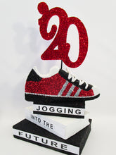 Load image into Gallery viewer, Sneaker graduation centerpiece - Designs by Ginny