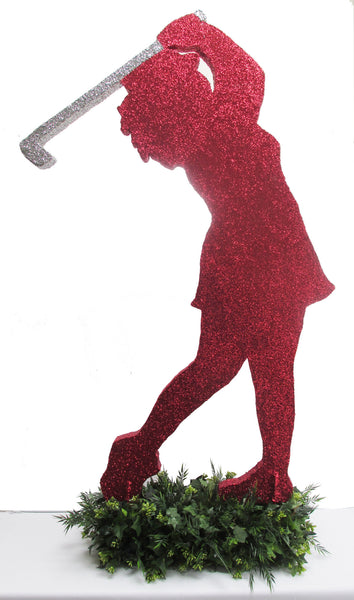 Female Golfer Cutout