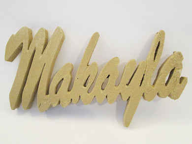 name Makayla cutout - Designs by Ginny
