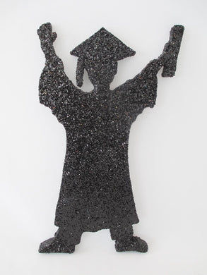 Grad Boy Graduation Cutout - Designs by Ginny