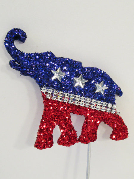 Mimi GOP Elephant cutout - Designs by Ginny