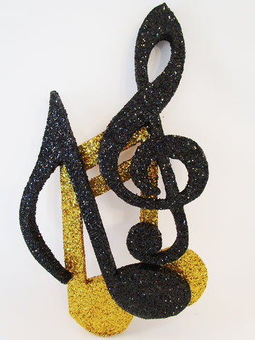 musical notes styrofoam cutout - Designs by Ginny