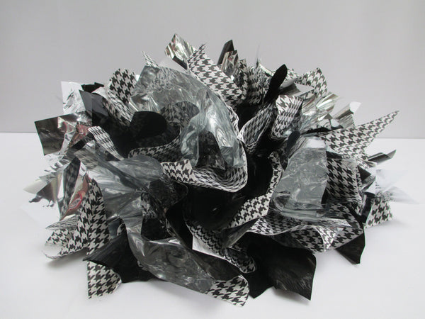 Metallic Tissue Centerpiece Base
