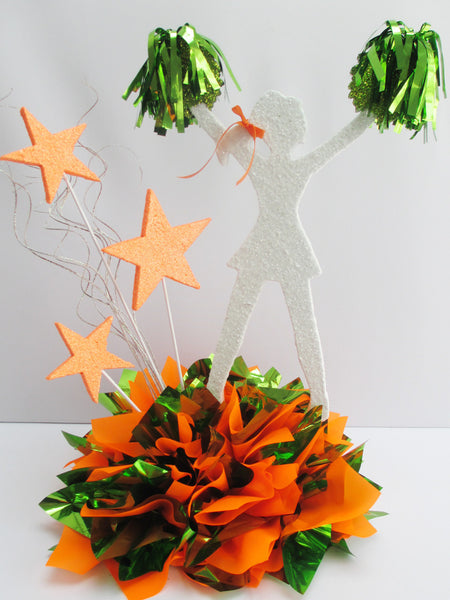 Cheerleader Cutout (Hands in the Air)