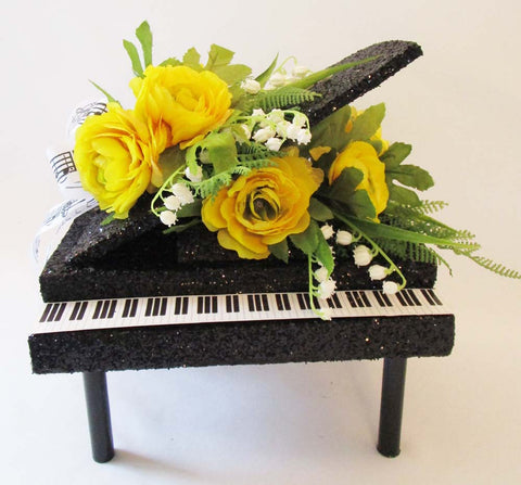 Piano table centerpiece - Designs by Ginny