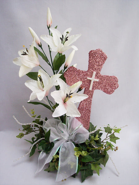 Cross with Scalloped Edges