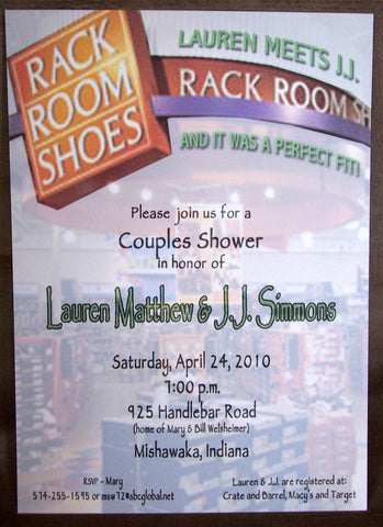 Couple Shower Invite
