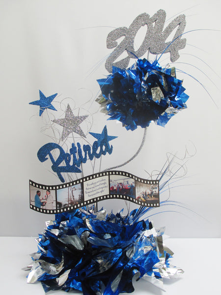 2 tier custom retirement centerpiece - Designs by Ginny