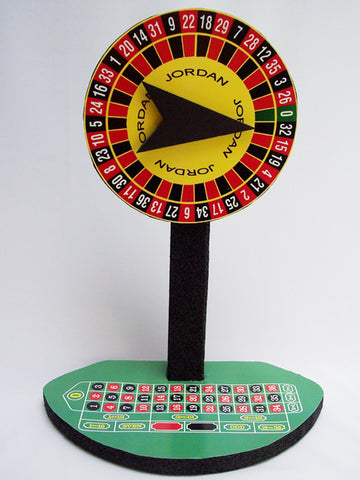 Roulette Wheel Centerpiece