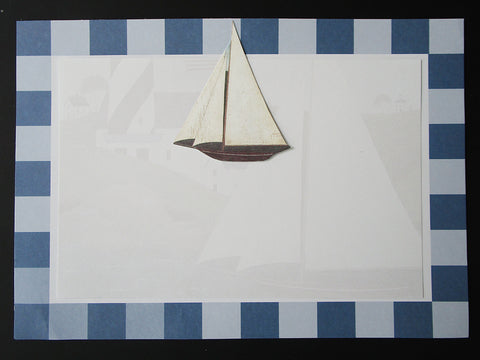 Sail Boat Invite - Designs by Ginny