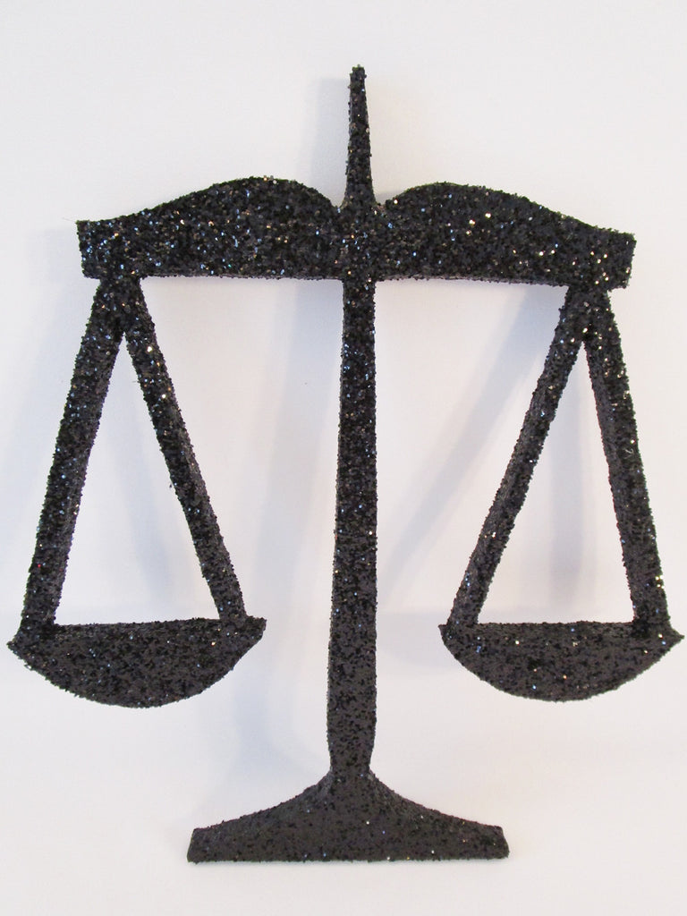 Scales of Justice Cutout