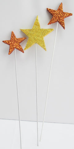 Set of Star cutouts