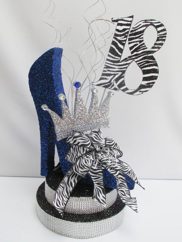 High Heel with Crown Centerpiece