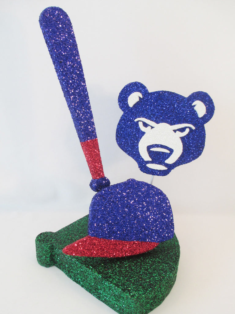 South Bend Cubs Table Centerpiece