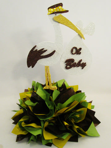 Stork Oh Baby - Centerpiece - Designs by Ginny