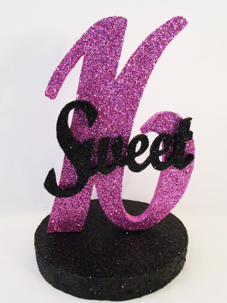 sweet sixteen or quinceanera styrofoam centerpieces designs by ginny