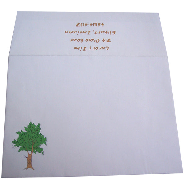 Tree Wedding Invite
