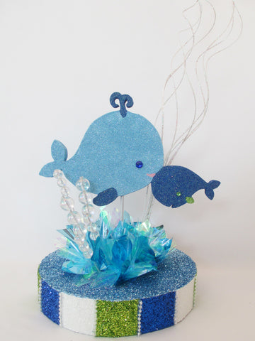 Momma & Baby Whale Centerpiece