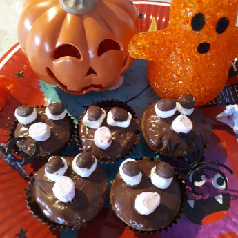 Dairy Free & Vegan Halloween Bat Buns Recipe