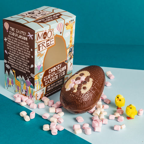 Vegan Easter Egg from Moo Free