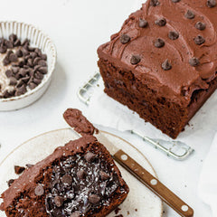 dairy free and vegan chocolate banana bread recipe