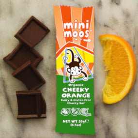 Dairy Free Mini Moos Cheeky Orange Bar