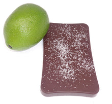 Load image into Gallery viewer, ARTISAN: Organic Dark 65% Chocolate With Sea Salt & Lime Bar