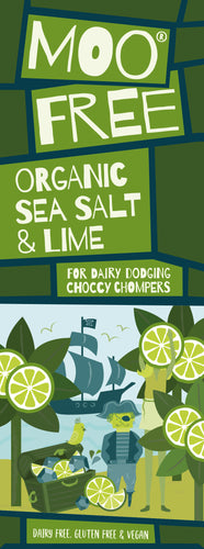 Sea Salt & Lime Dairy Free Chocolate Bar