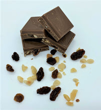 Load image into Gallery viewer, dairy free fruit and nut milk chocolate