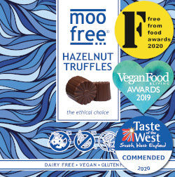 moo free multi award-winning free-from truffles