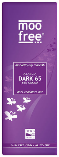 dairy free 65% dark chocolate bar