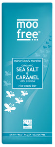 premium dairy free sea salt and caramel bar