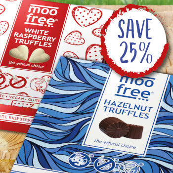 dairy free and vegan truffles special offer