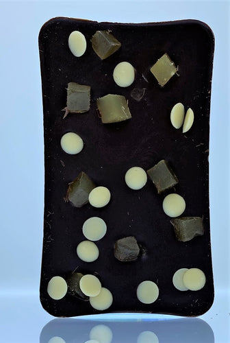 ARTISAN: Slab of Premium 65% Dark Chocolate with Ginger Chunks