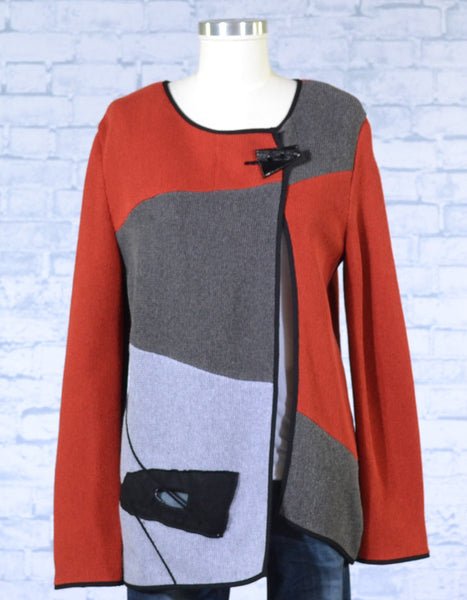 Colorblock Longer Jacket