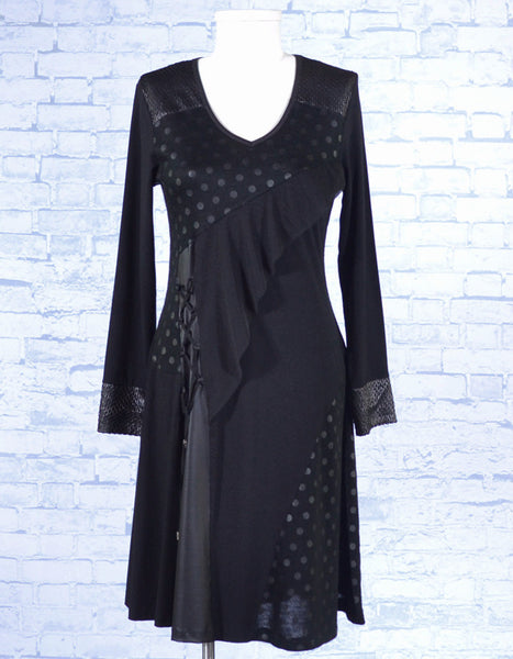 Black Subtleties Dress