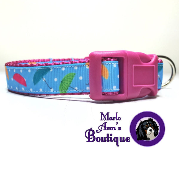April Showers Dog Collar