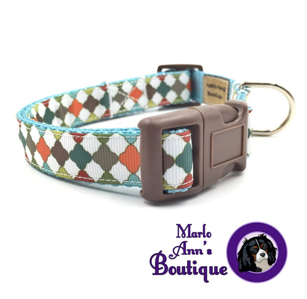 Fall in Morocco Dog Collar