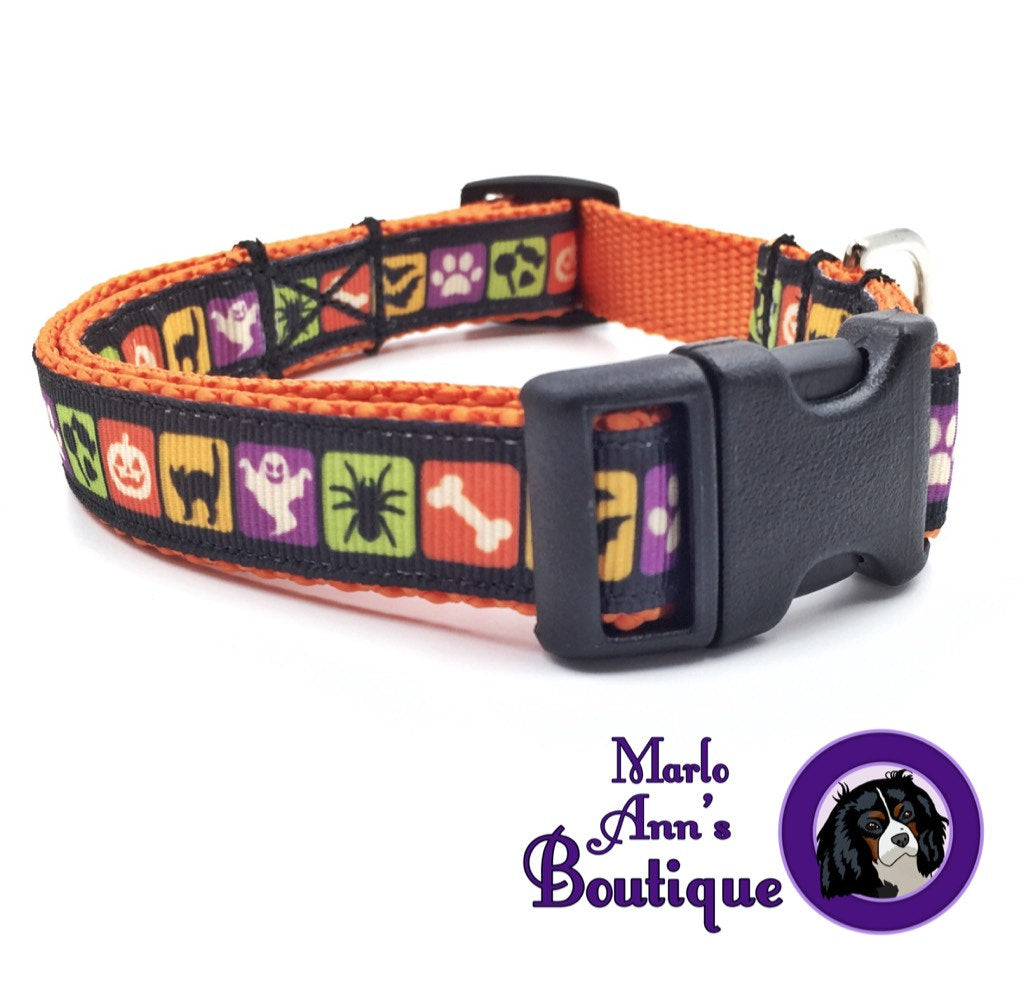Shadows in the Night Dog Collar