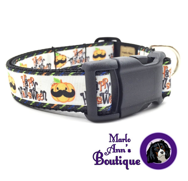 Happy Halloween Dog Collar