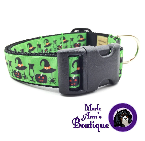 Hocus Pocus Dog Collar